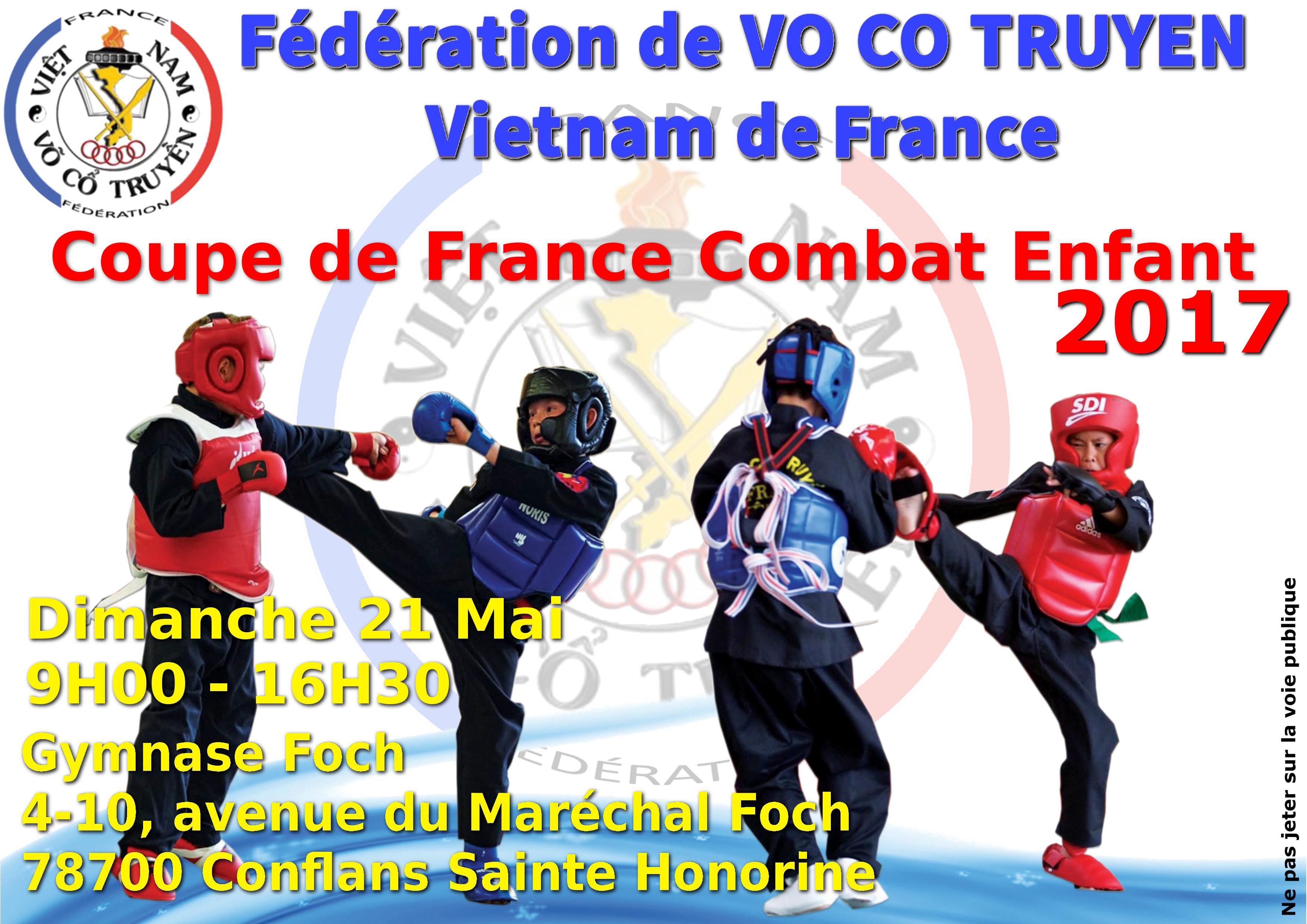 Coupe de France Enfants Combat 21-05-2017