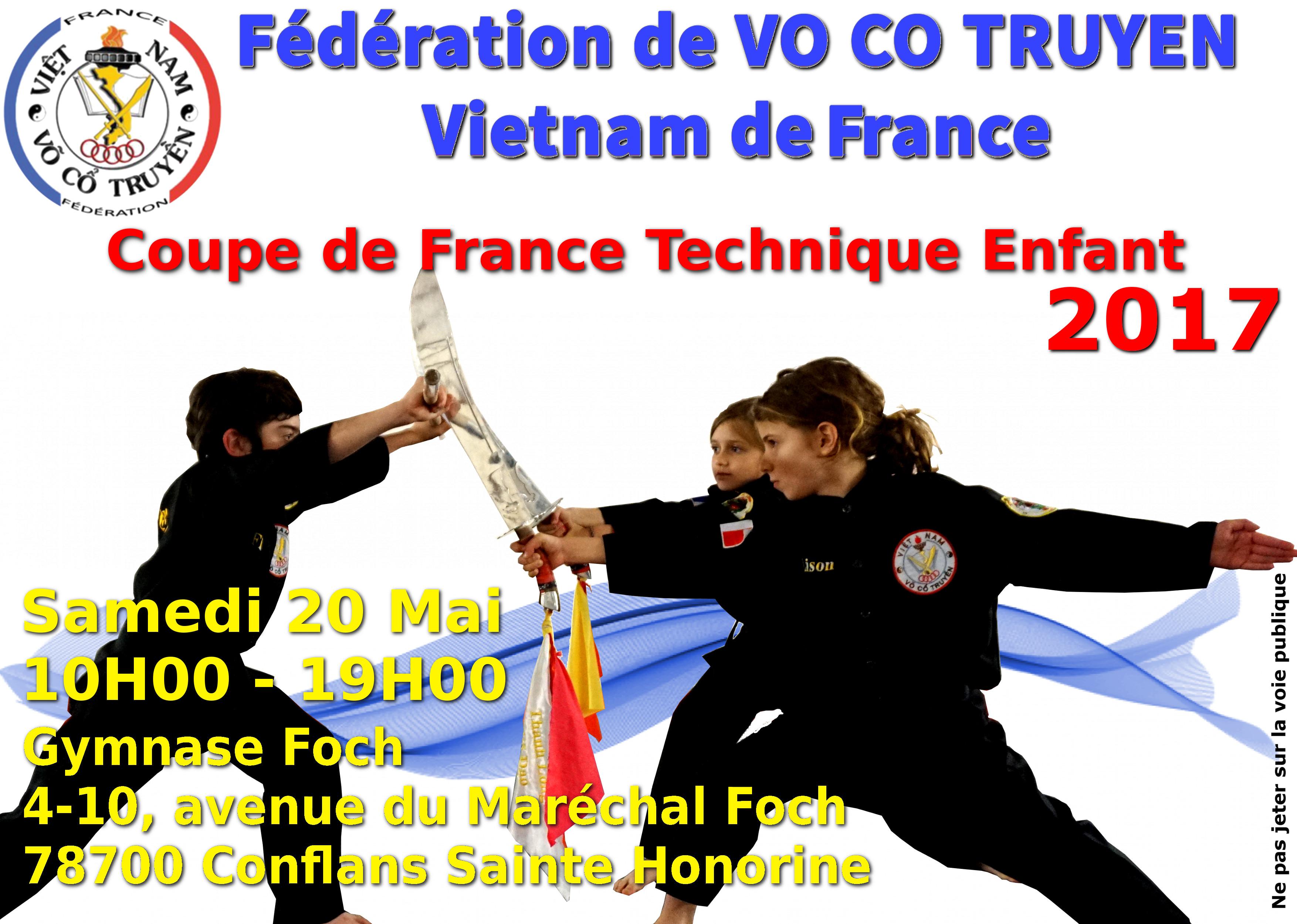Coupe de France Enfants Technique 20-05-2017