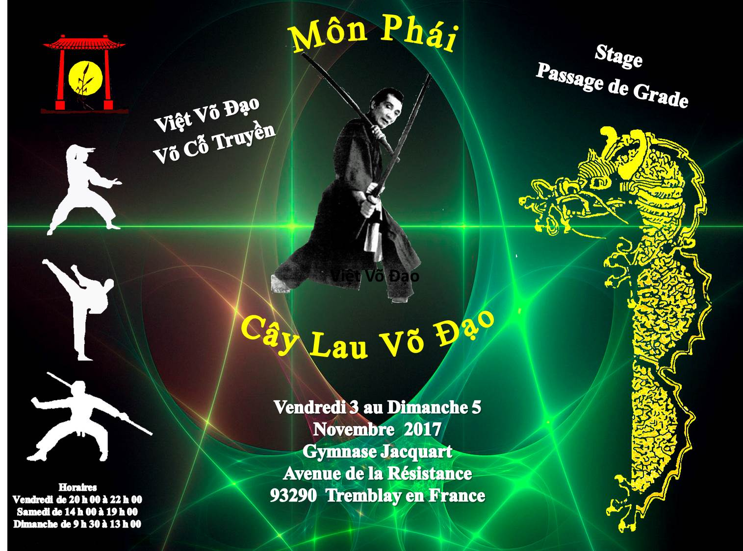 Stage Ecole  Le Roseau ……..Novembre 2017