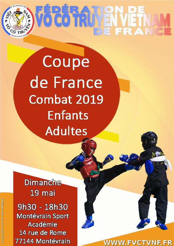 COUPE DE FRANCE COMBAT